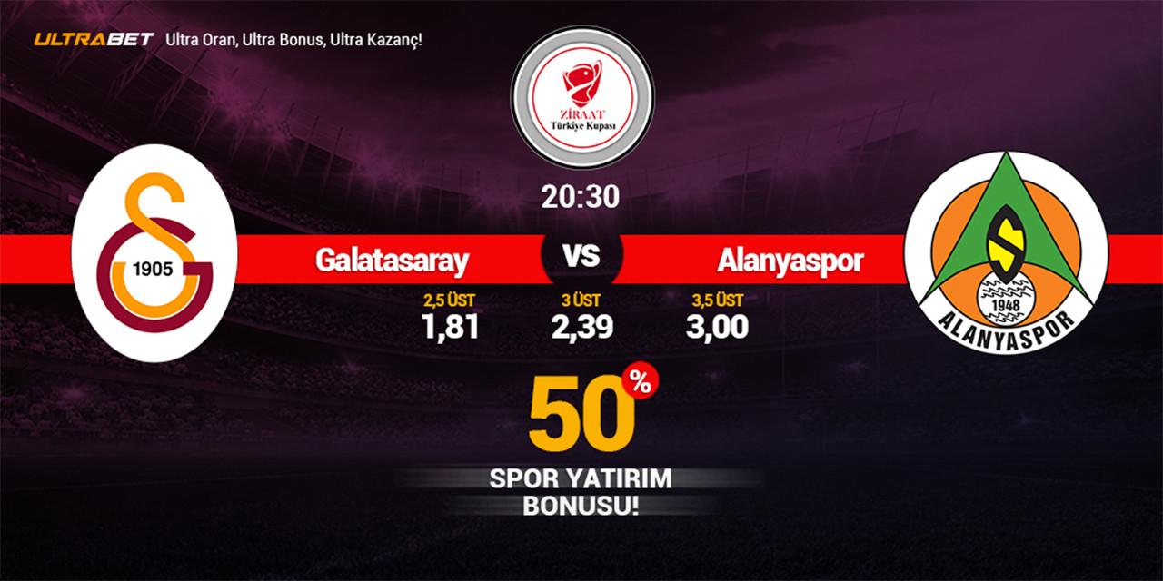 Galatasaray - Alanyaspor Canlı Maç İzle