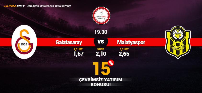 Galatasaray - Yeni Malatyaspor Canlı Maç İzle