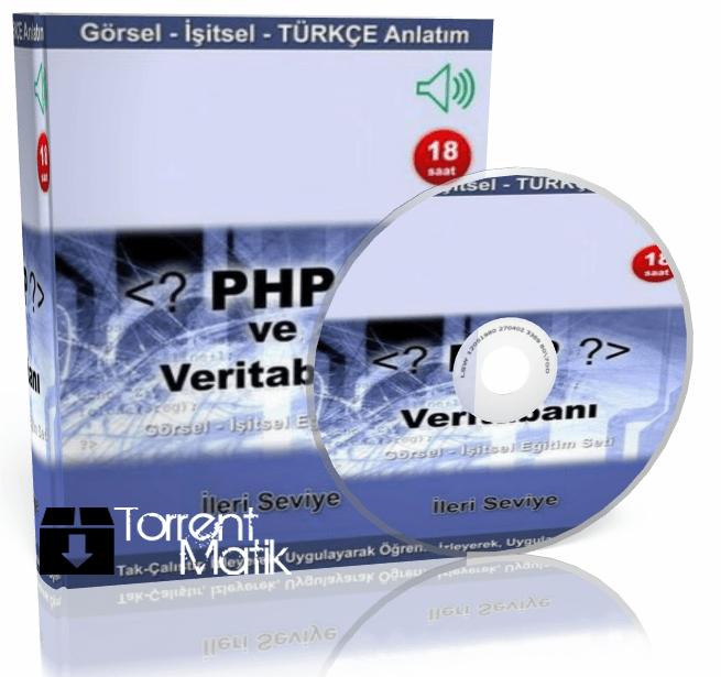 Türkçe Görsel Php Eğitim Seti (82 Video) Torrent İndir