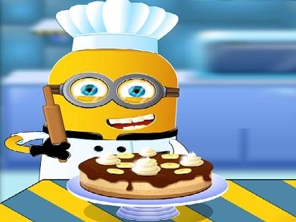 Minion Muzlu Kek Pişirme Oyunu