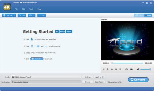 Tipard 4K UHD Converter 8.0.12