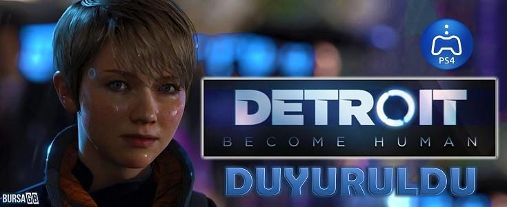 Detroit: Become Human Geliyor