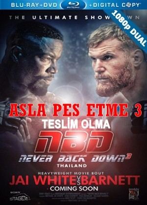 Asla Pes Etme 3 - Never Back Down No Surrender | 2016 | WEB-DL 1080p x264 AC3 | DuaL TR-EN - Teklink indir