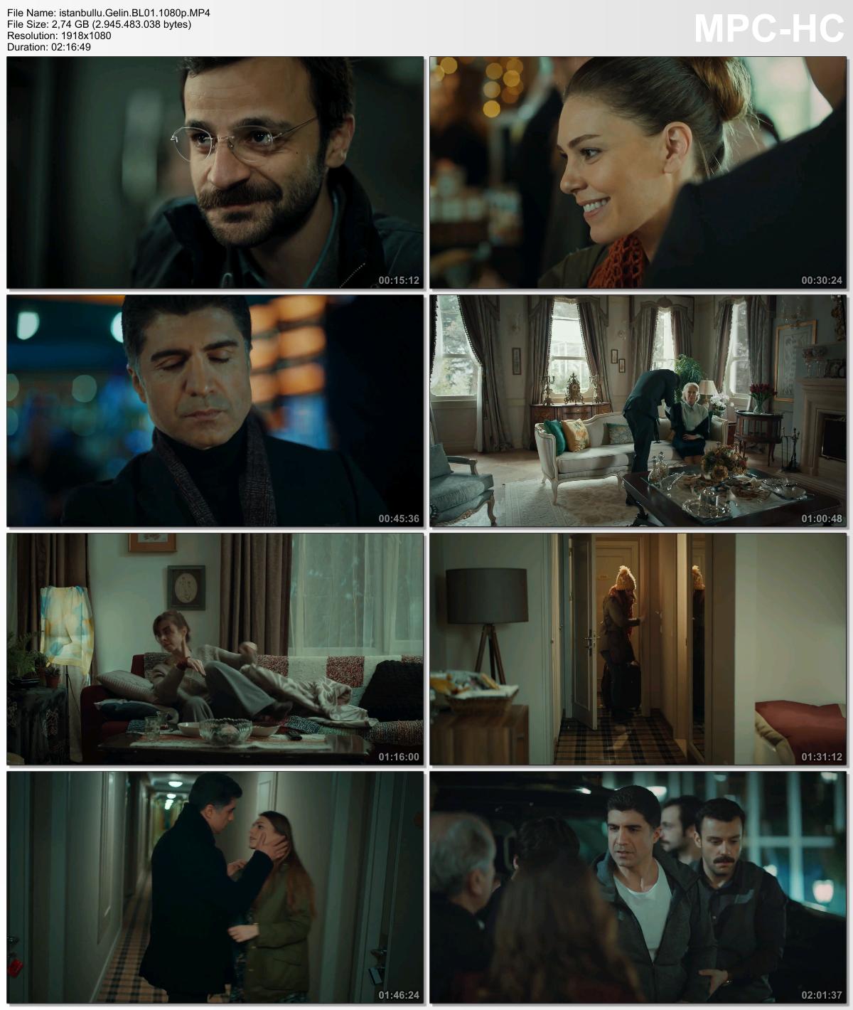 İstanbullu Gelin 27.Bölüm (HD - x264 - 1080p) Tüm Bölümler - okaann27