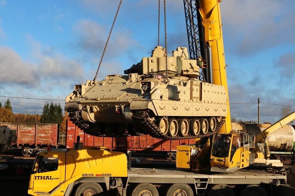 American Tanks In Estonia 8