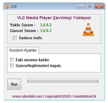 VLC Media Player Çevrimiçi Yükleyici v1.0 cover