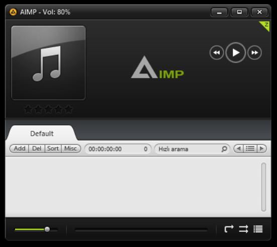 AIMP 5.00 Build 2334 | Katılımsız