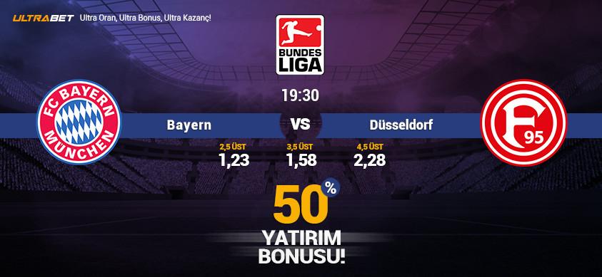 Bayern vs Düsseldorf - Canlı Maç İzle
