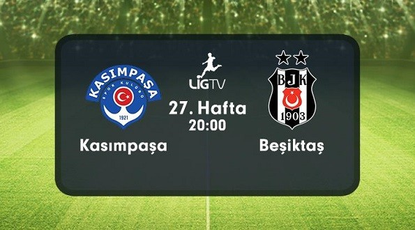 Kasımpaşa – Beşiktaş (04.04.2016) | HDTV 720p | Full Maç – VKRG