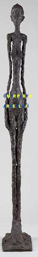 Dünyanın pahalı heykelcisi Giacametti Pera