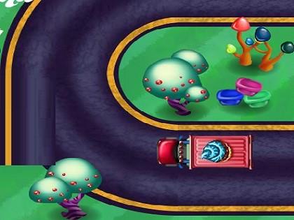 Candy Saga Otopark Oyunu