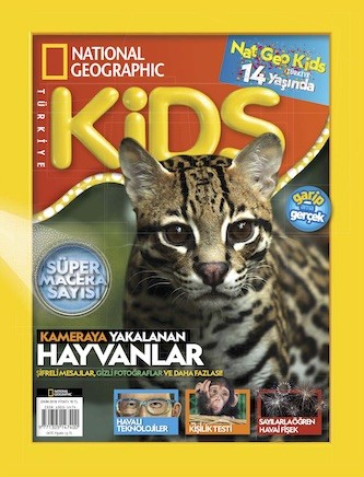 National Geographic Kids Ekim 2018