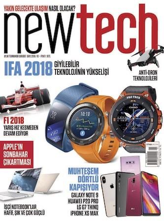 NewTech Ekim 2018