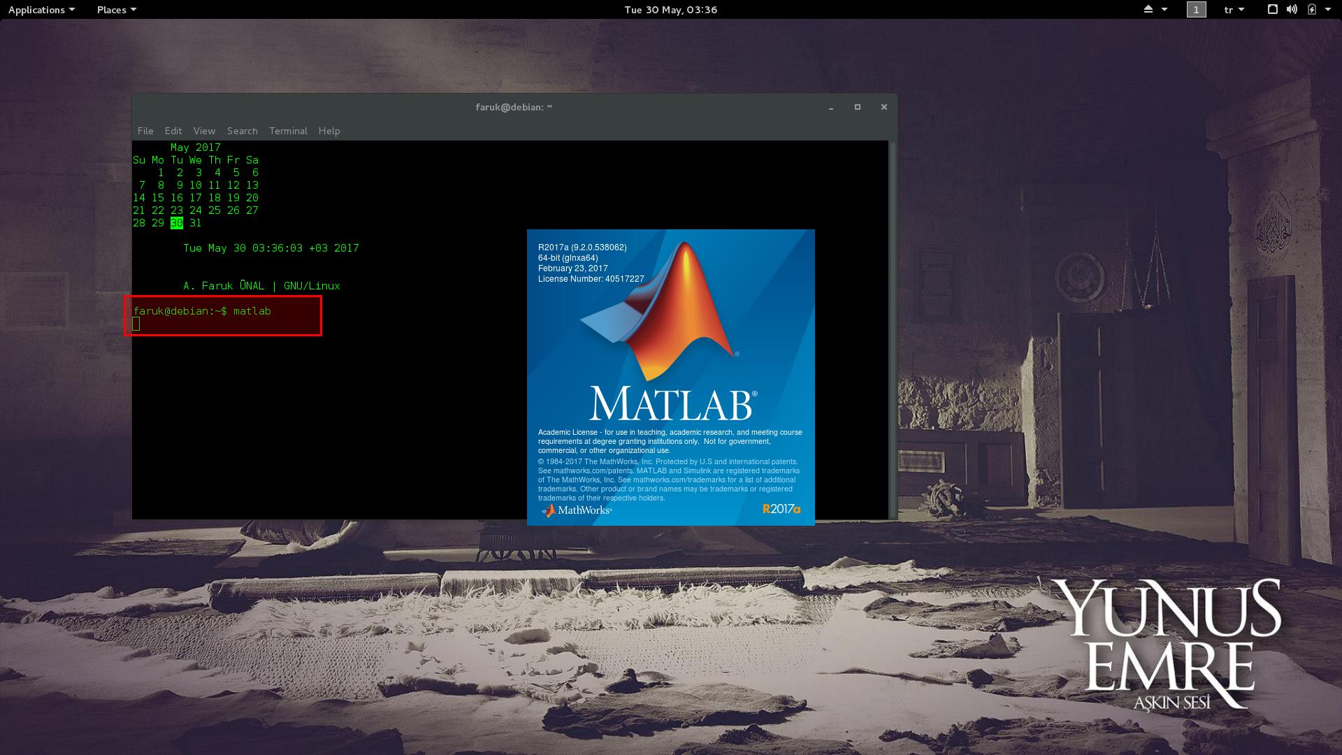 Installing MATLAB on Debian Jessie – A  Faruk