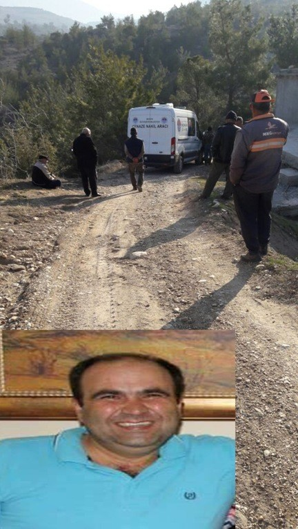Mut'ta 1 kişi kendini ağaca asarak intihar etti