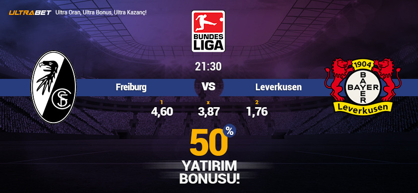 Freiburg vs Leverkusen - Canlı Maç İzle