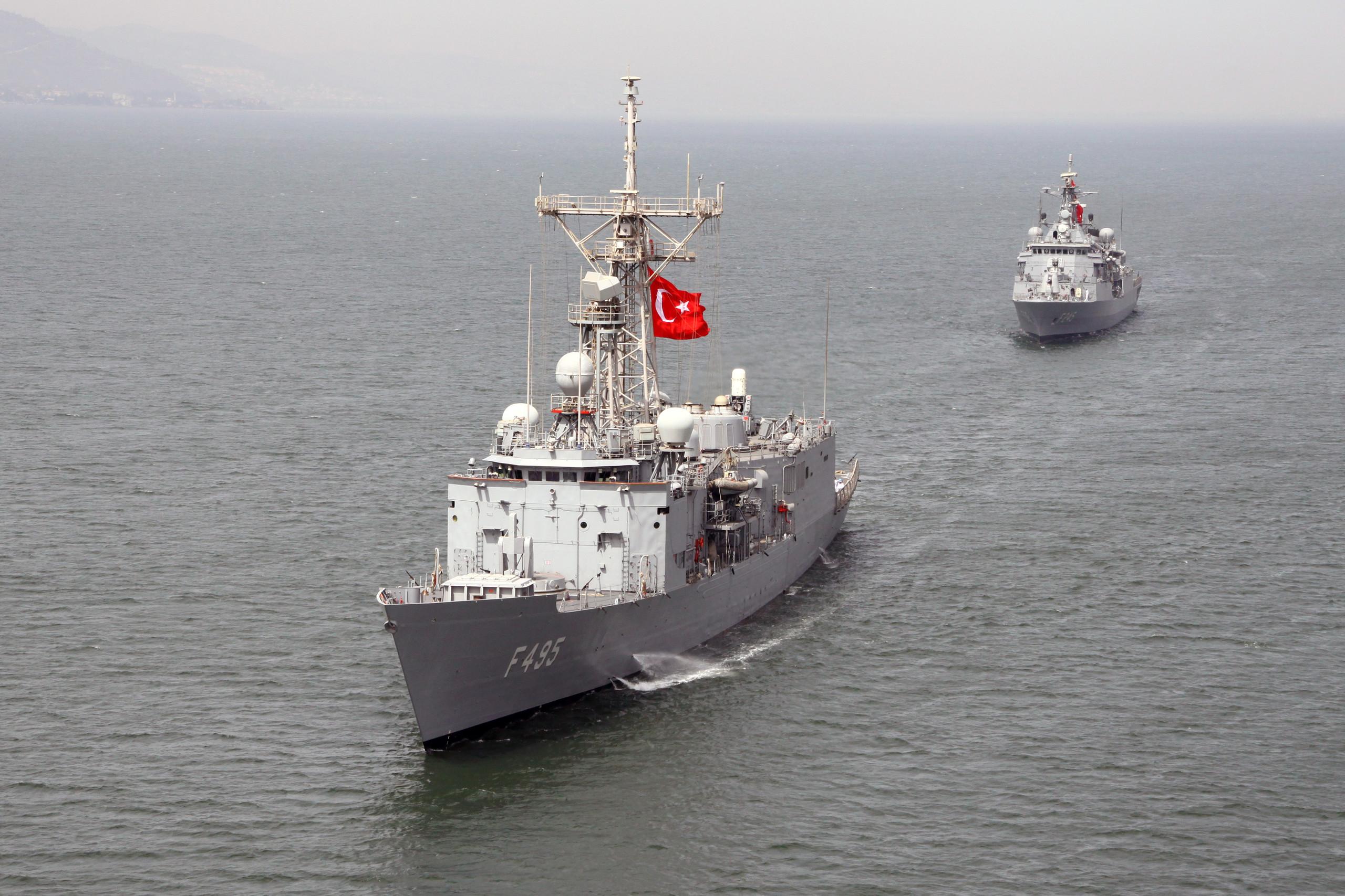 Turkish Navy: JBm61D