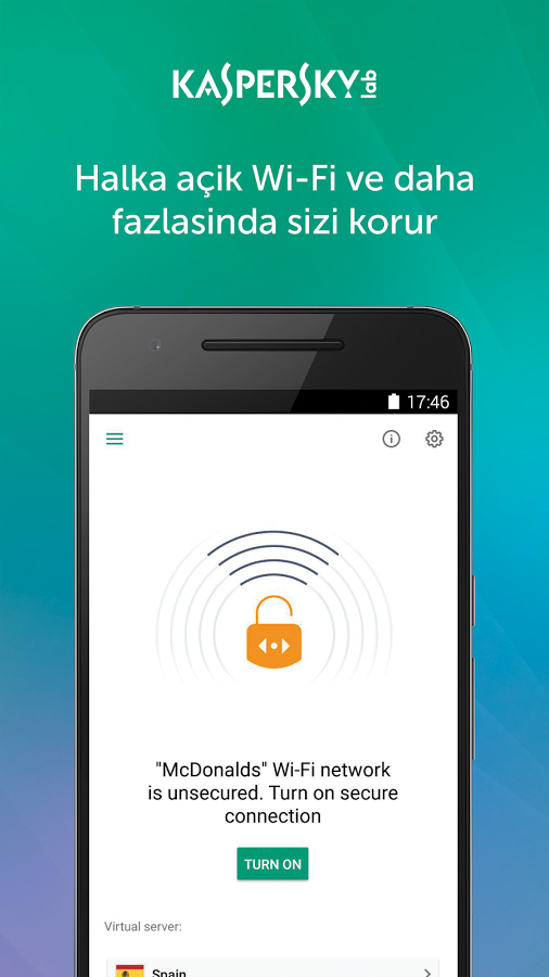 Kaspersky VPN – Secure Connection Full Apk
