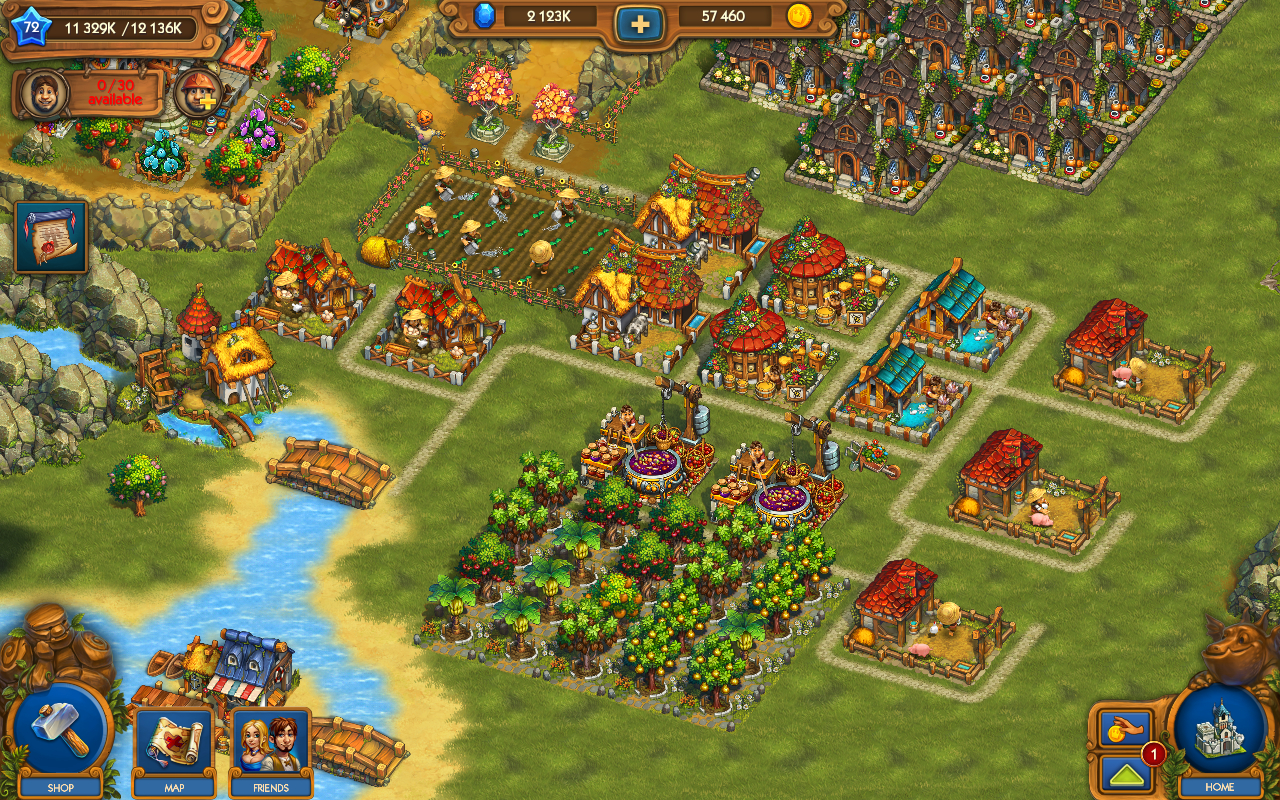 The Tribez & Castlez Apk İndir