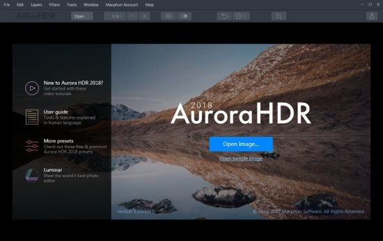 Aurora HDR 2018 1.1.0.793 Full İndir