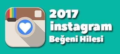 instagram beğeni hilesi 2017