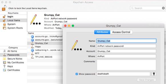 oguzhanavci.com - Mac'te Wi-Fi Şifresi Nasıl Bulunur? Resimli