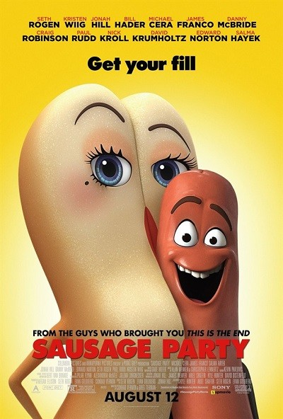 Sosis Partisi – Sausage Party 2016 BluRay 720p – 1080p DUAL TR-ENG – Film indir