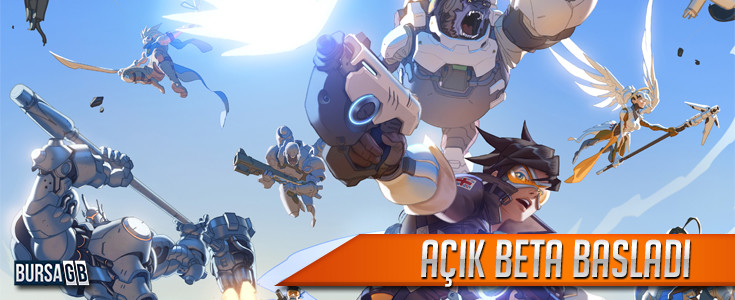 Overwatch Açik Beta