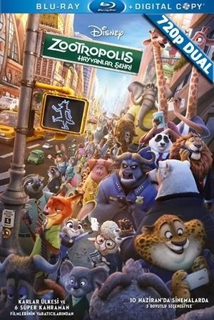 Zootropolis: Hayvanlar Şehri - Zootopia   2016   BluRay 720p x264   DUAL TR-EN - Teklink indir