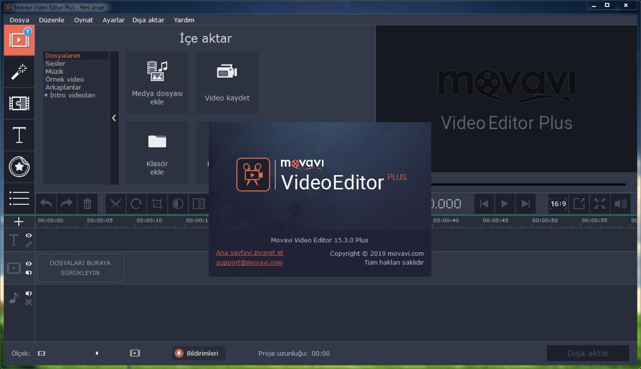 Movavi Video Editor Plus 20.4.0 | Katılımsız