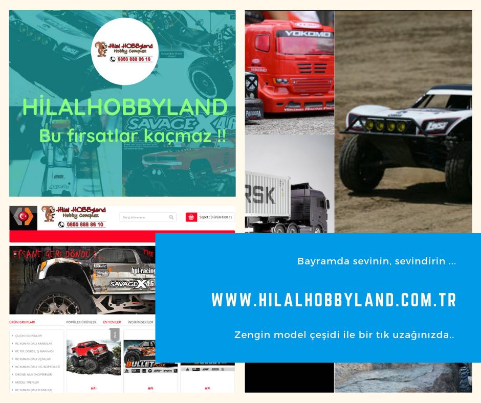 Hilalhobbyland | Bayrama Modelle girin !
