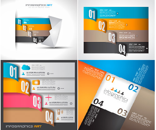 Infographics Design Elements Vector Set 72