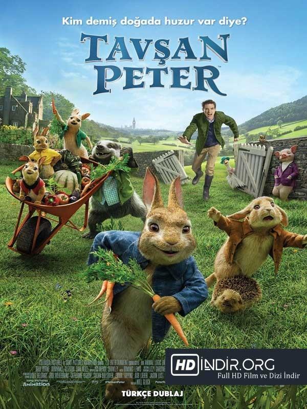 Tavşan Peter indir (2018) DUAL TR-ENG m1080p Full HD Ücretsiz indir