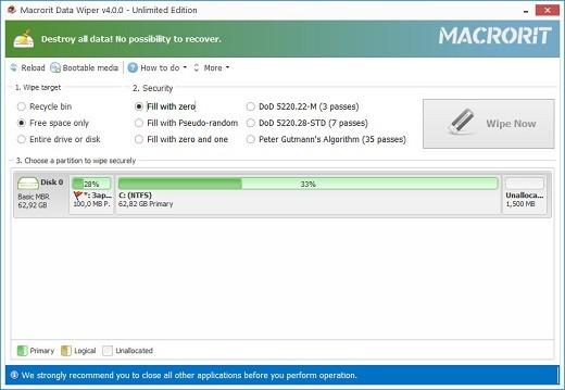 Macrorit Data Wiper Full İndir