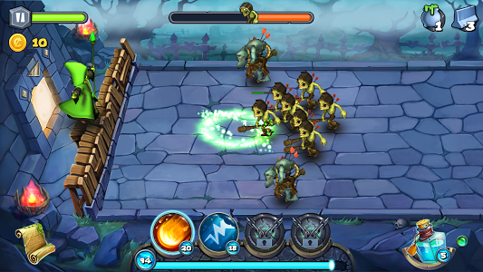 Magic Siege - Defender Android Oyun