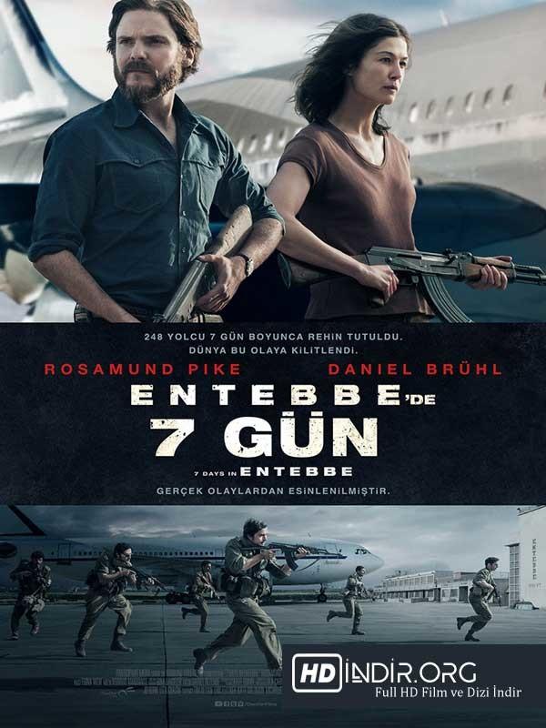 Entebbe'de 7 Gün indir (2018) Türkçe Dublaj Full HD İndir