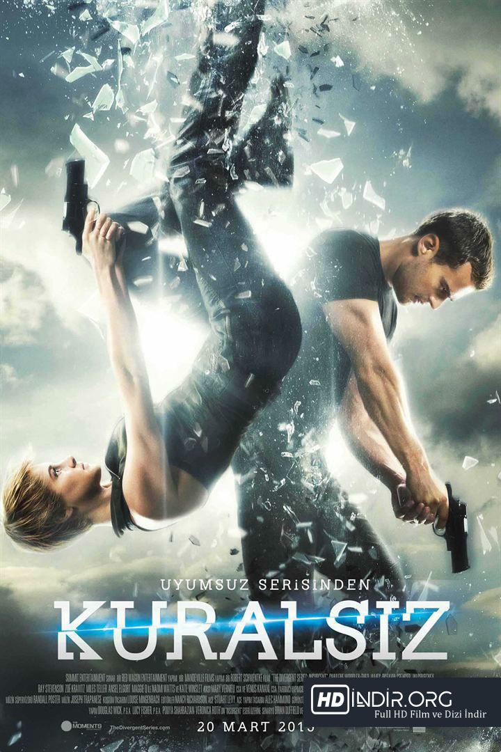 Kuralsız - Insurgent (2015) Türkçe Dublaj HD Film indir