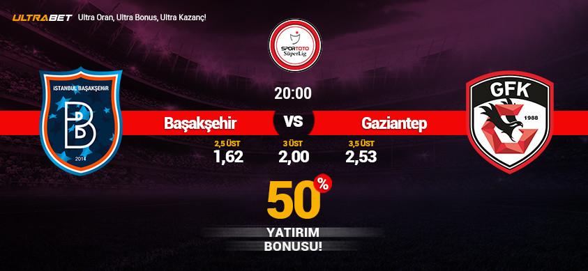 Başakşehir - Gaziantep Canlı Maç İzle
