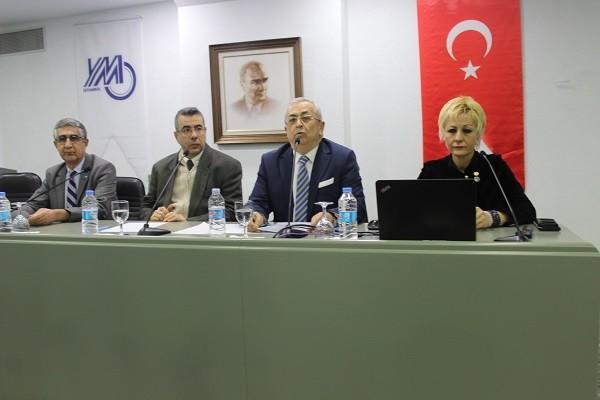 İstanbul YMM Odası Periyodik Aylık Platform Toplantılarından Birini Daha Platform Başkanı Sabri Tümer Başkanlığında Gerçekleştirdi.