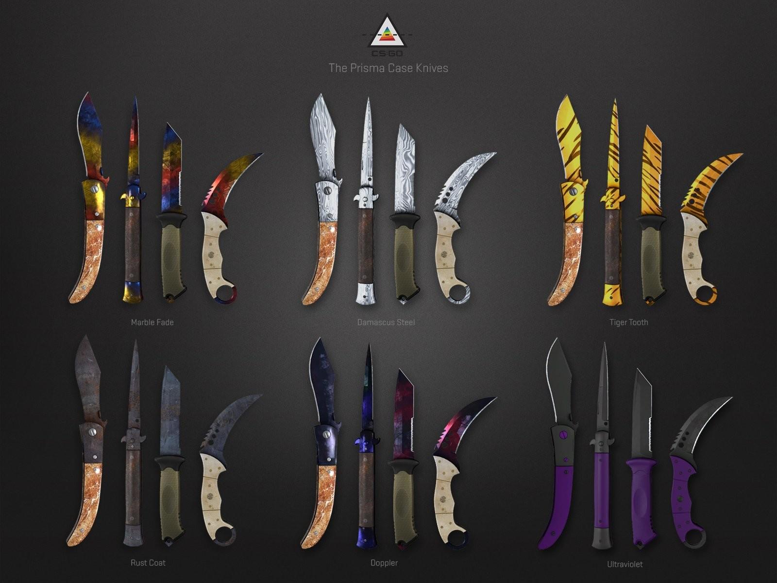 csgo prizma kasası bıçak skinleri