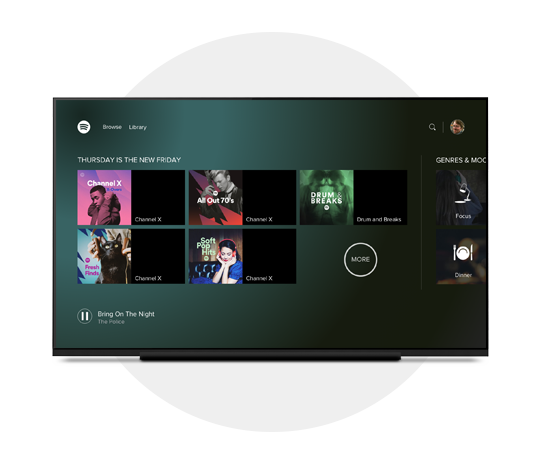 Spotify Tv(Android TV) - forumXperience