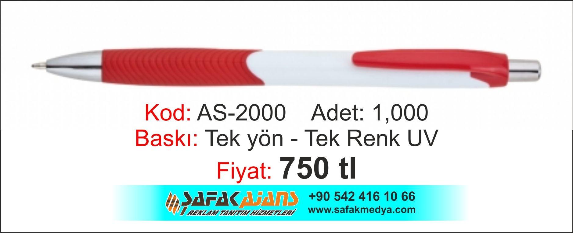 PLASTİK KALEM - AS -2000