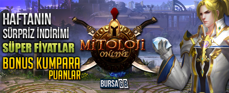 Mitoloji Online Sürpriz İndirim Hemen Elmas Al