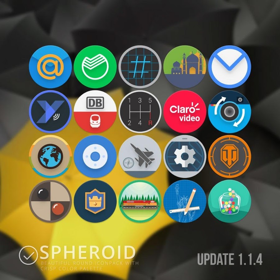 Spheroid Icon Android