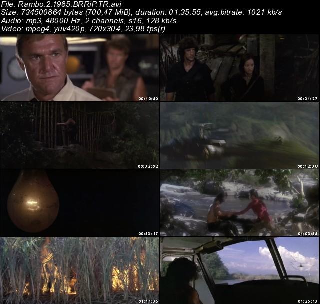 Rambo İlk Kan 2 (1985) Film indir