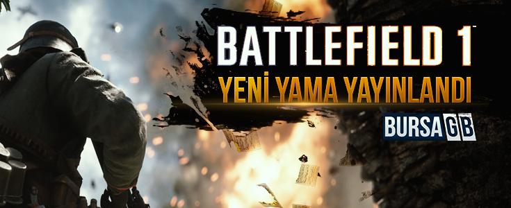 Yeni Battlefield 1 Yaması Yayında ! Yeni Oyun Modu ve Harita