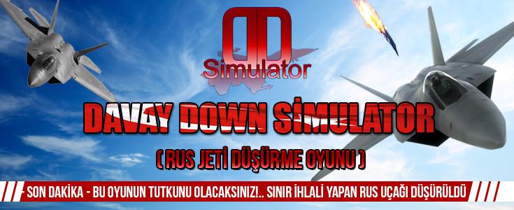 2016'ya Müthis Bir Oyun Davay Down Simulatör