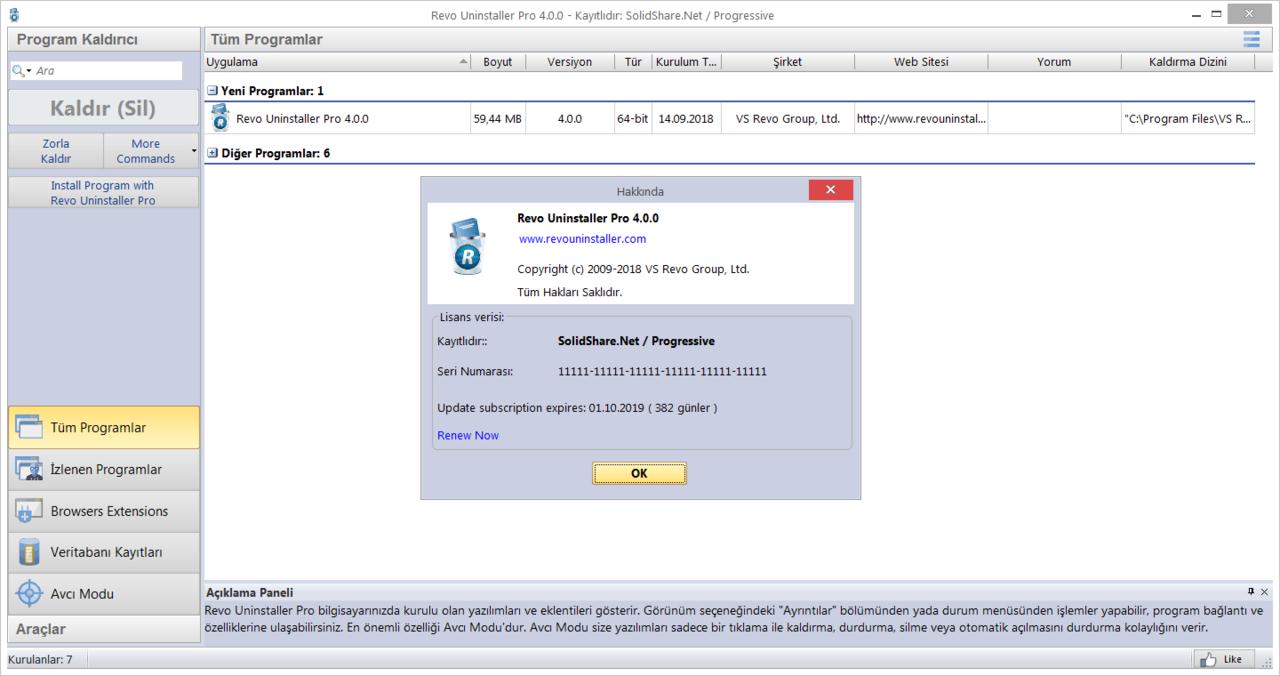 Revo Uninstaller Pro 4.1.0 | Katılımsız