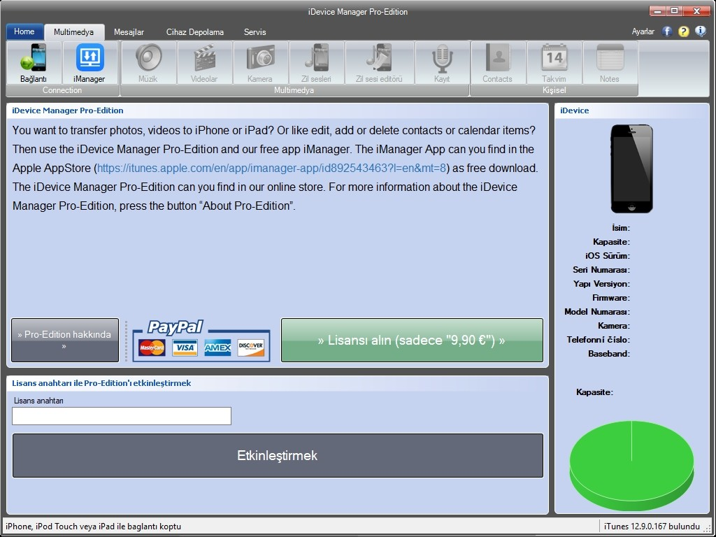 iDevice Manager Pro Edition 8.7.0.0 | Full