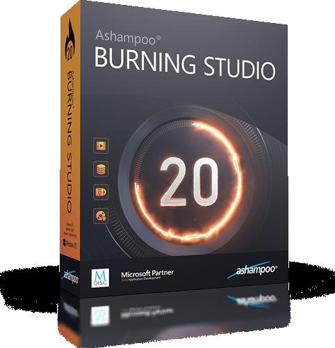 Ashampoo Burning Studio 20.0.3.3 | Katılımsız